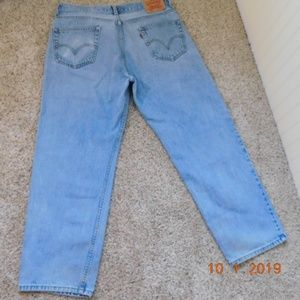 LEVI'S 550 relaxed fit 36/30 LIKE NEW